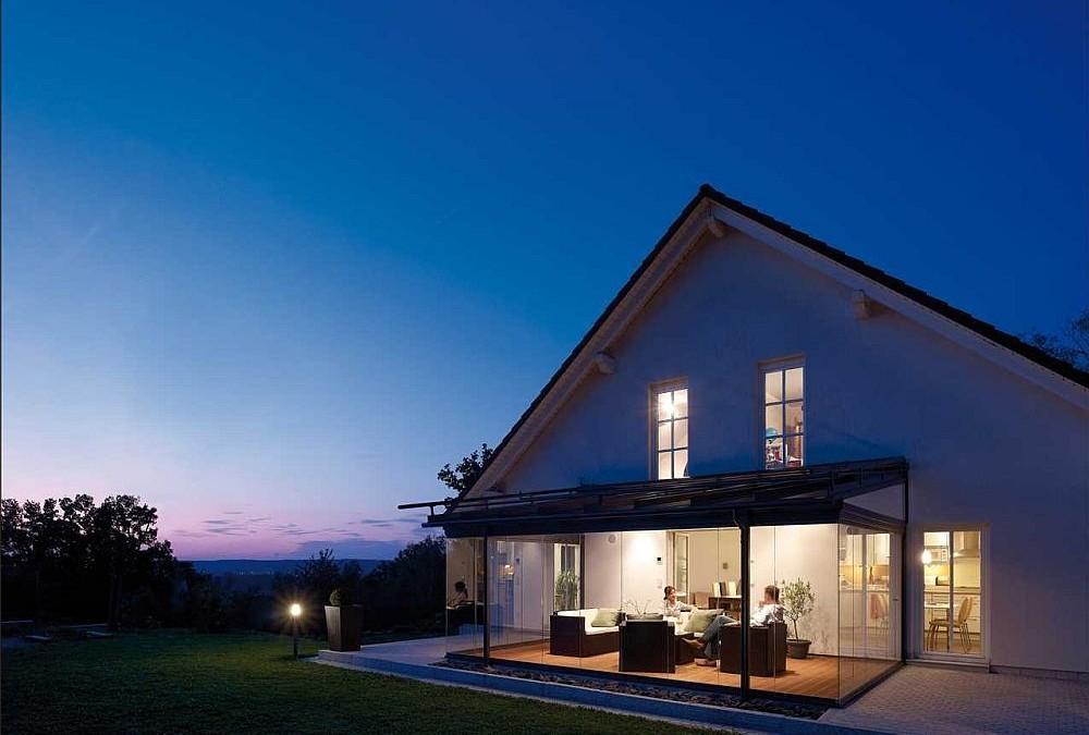 Solarlux Terrassen-Überdachung und Glashaus
